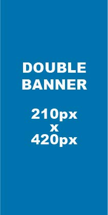 media banner sizes double 210px x 420px